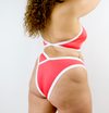 ECO URBAN X WEARE V Front High Leg Bikini Bottom