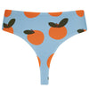 ECO Selin High-waist Thong - Apricot Print