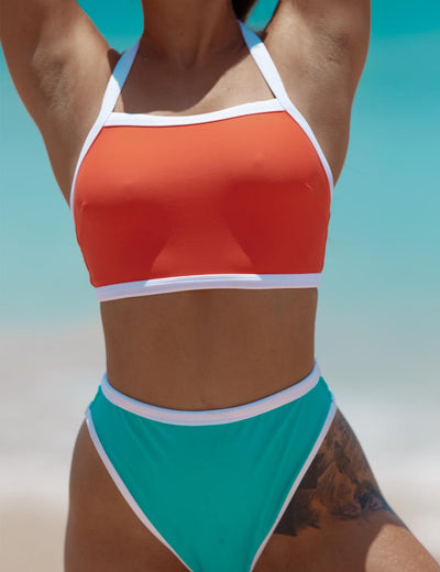 ECO URBAN X WE ARE High Waist Bikini Bottom