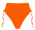 ECO Sibelle Tie Side High-waist Bikini Pant -  Orange