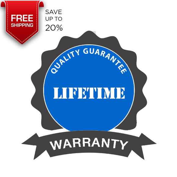 FREE LIFETIME WARRANTY with Water Subscription