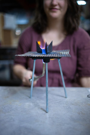 Torch fire enameling.  Photo by EGB Photography.