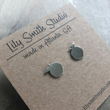 Load image into Gallery viewer, Lily Smith Studio ~ Sterling Silver Georgia Peach Post Earrings
