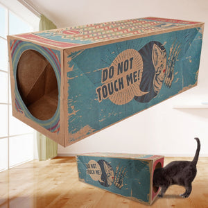 Cardboard box for cats