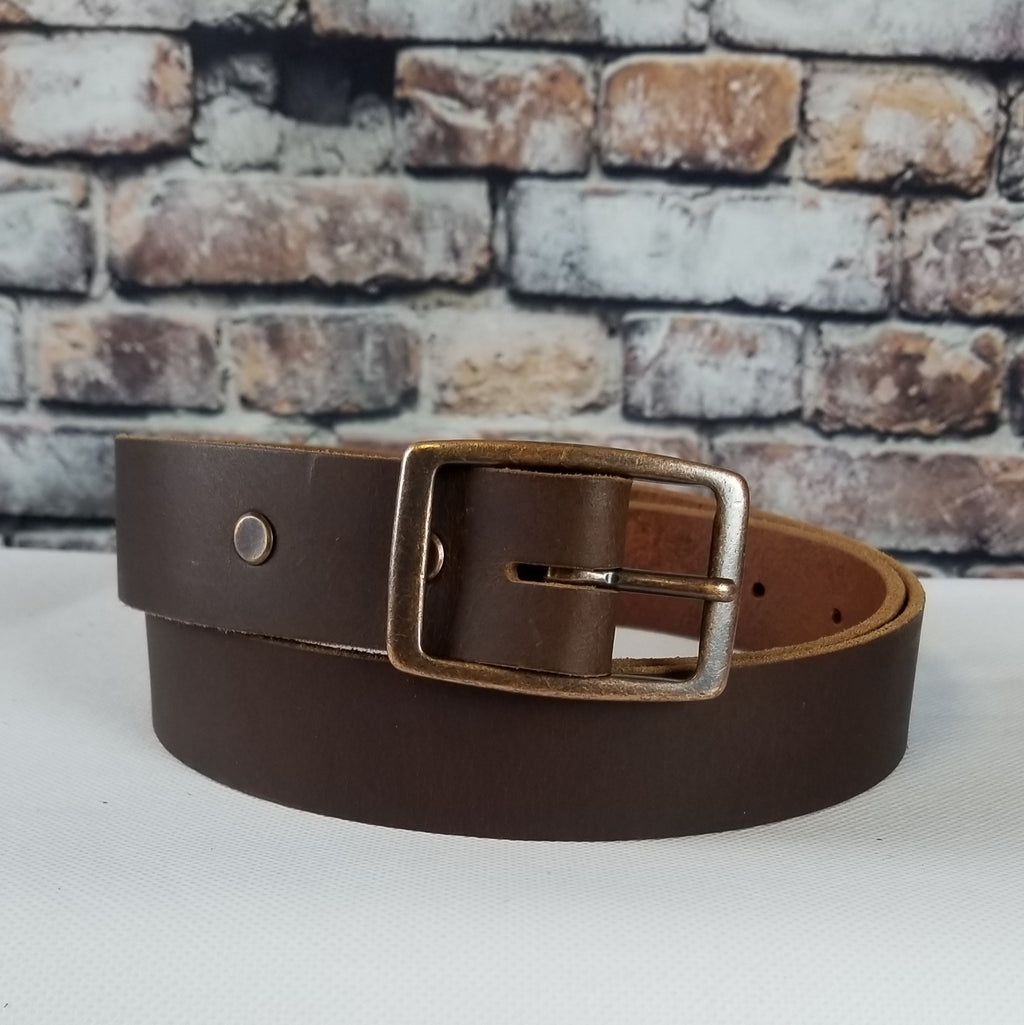 Everyday Leather Belt | Dark Brown