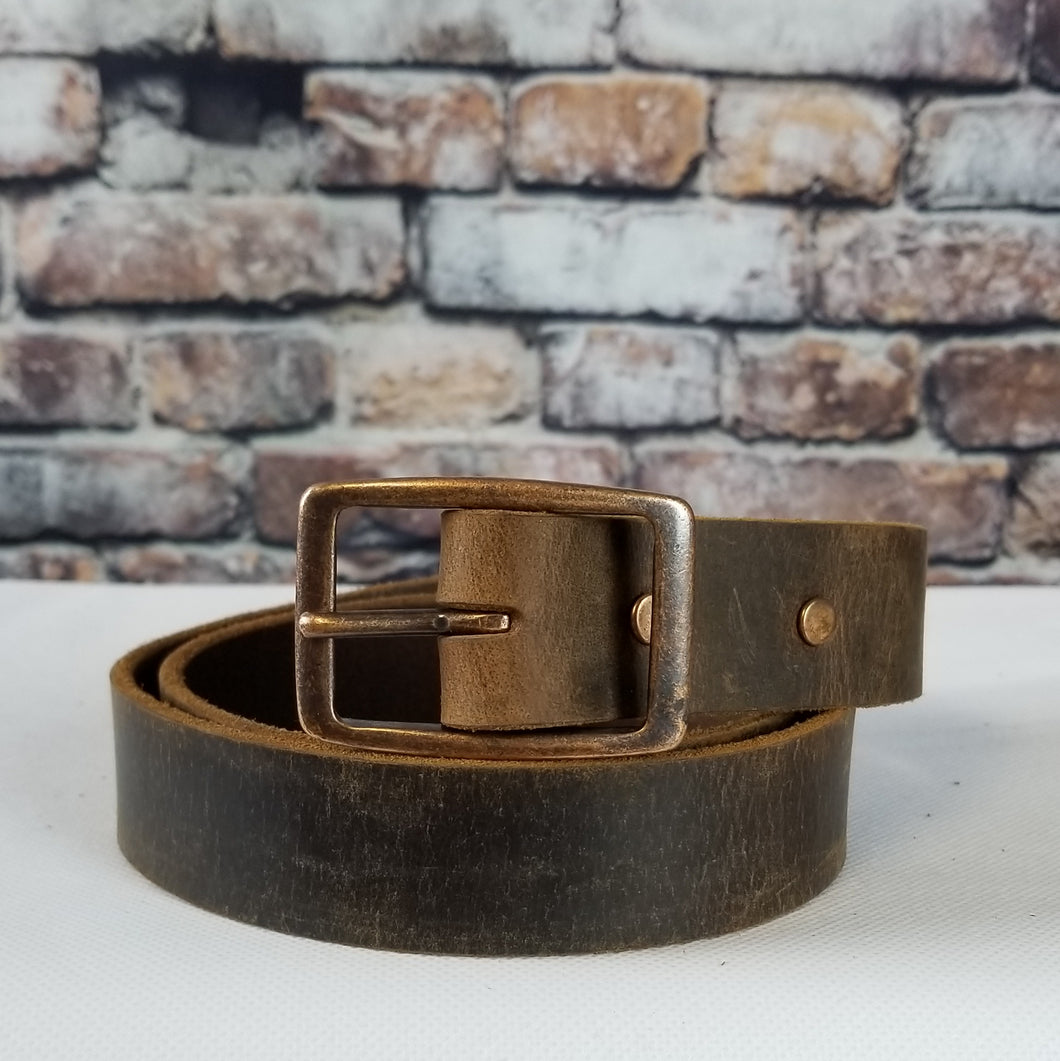 Everyday Leather Belt | Crazy Horse