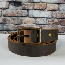 Load image into Gallery viewer, Everyday Leather Belt | Crazy Horse