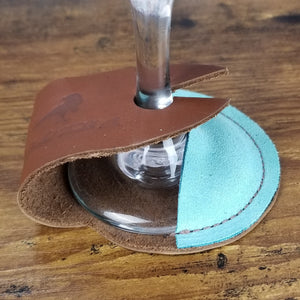 Wine Glass Coaster