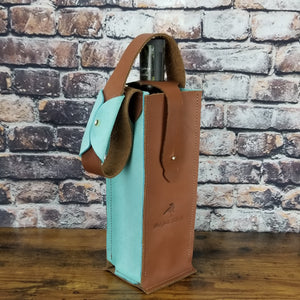 Single Wine Courier | Brown