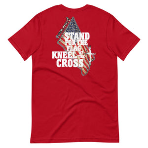 Stand for the Flag, Kneel at the Cross Tee