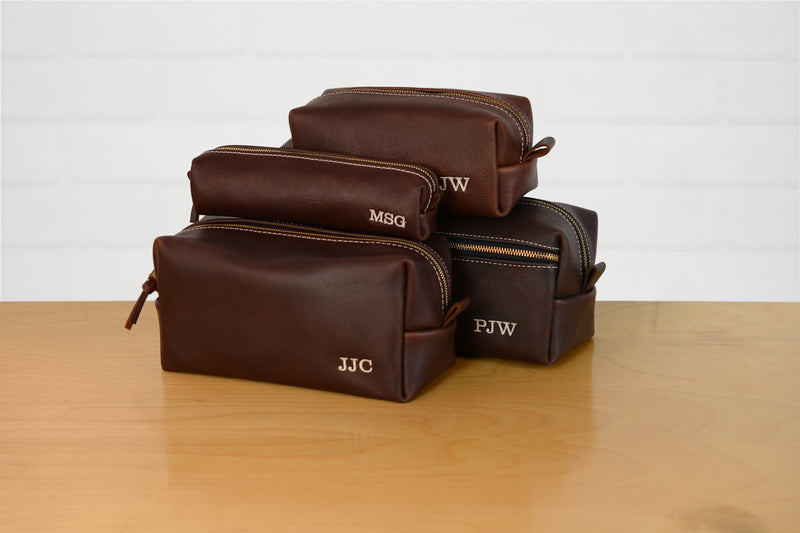 Arizona Leather Toiletry Bag