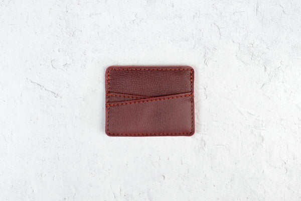 Leather Slim Wallet | Personalized Wallet  |  Minimalist Pocket Wallet | Gift for Her, Him, Anniversary, Grad