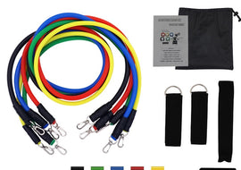 Fitness Set - Resistance Bands / Pull Ropes