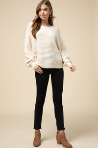Scoop-Neck Sweater