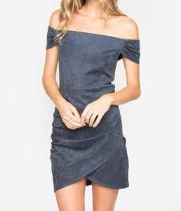 Wilder Suede dress