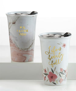 Sentiment Travel Mug