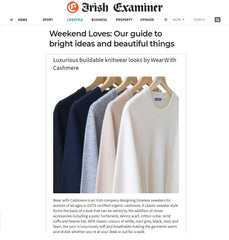 Irish Examiner features WearWith Cashmere