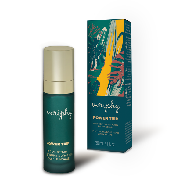 Power Trip - Natural Facial Serum, Cruelty Free, Plant Powered