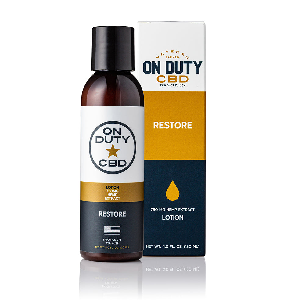 On Duty CBD Restore 750mg