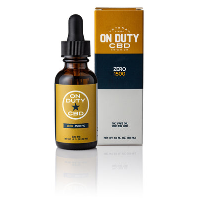 On Duty CBD Zero 1500mg