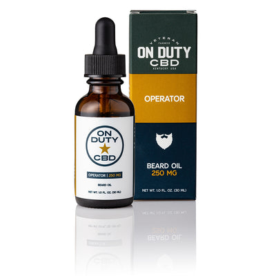 On Duty Operator Beard Oil