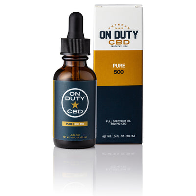 On Duty CBD Pure 500mg