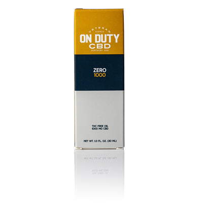On Duty CBD Zero 1000mg