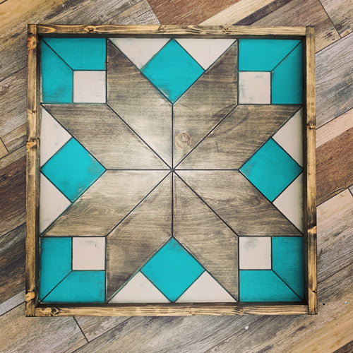 Barn Quilt - Summer Pattern 2 (Large)