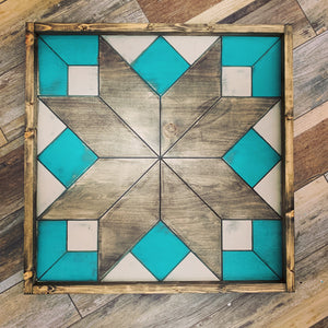 Barn Quilt - Summer Pattern 2 (Medium)