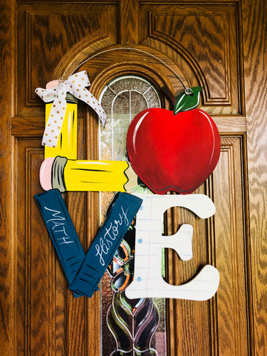 Doorhanger - Teacher LOVE (2hrs) $45