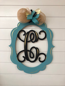 Mono - Initial Plaque (2hrs) $45
