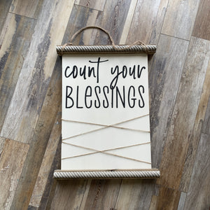 Count Your Blessings Memory Board (2.5hrs) $55