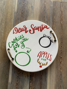Santa Cookie Tray (2hrs) $45