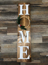 Load image into Gallery viewer, HOME Holiday Board w/Interchangeable Wreath (2.5hrs) $65