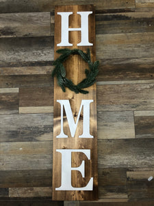 HOME Holiday Board w/Interchangeable Wreath (2.5hrs) $65