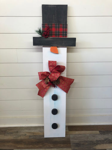 Porch Snowman (2hrs) $60