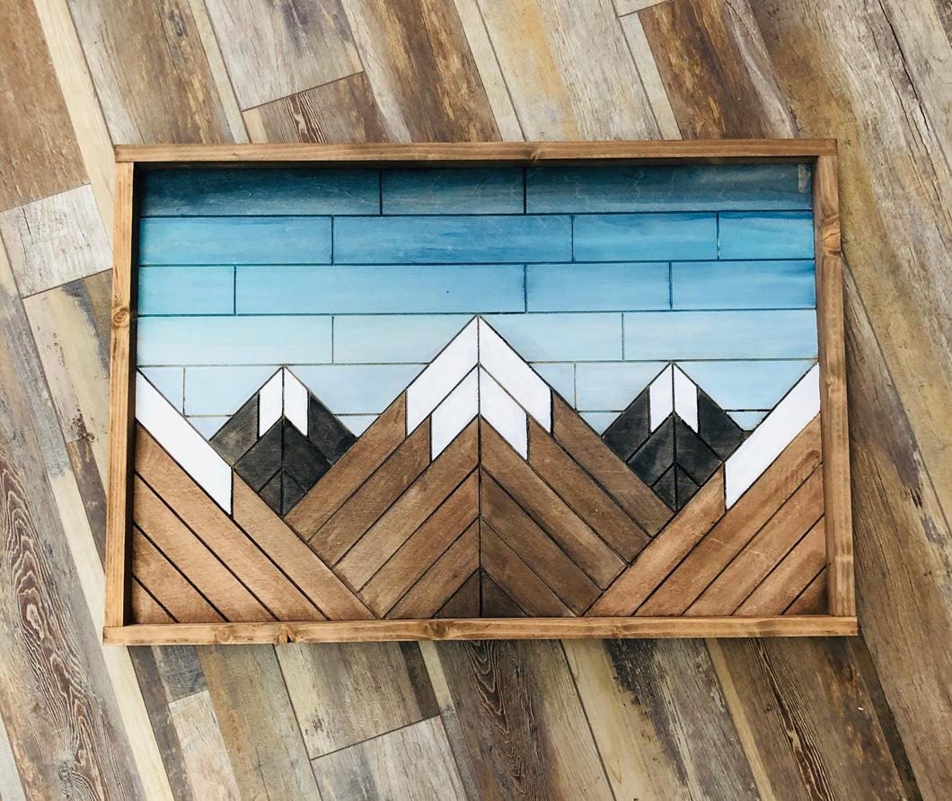 Mountain Mosaic (3hrs) $75