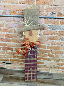 Porch Scarecrow (2.5hrs) $60.00