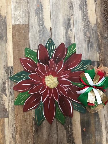 Doorhanger - Flower (2hrs) $43.50