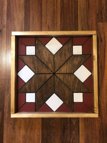 Barn Quilt - Starburst Medium
