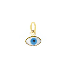 Load image into Gallery viewer, 14k Evil Eye Charm