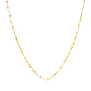 GOLD NECKLACE MIDNIGHT