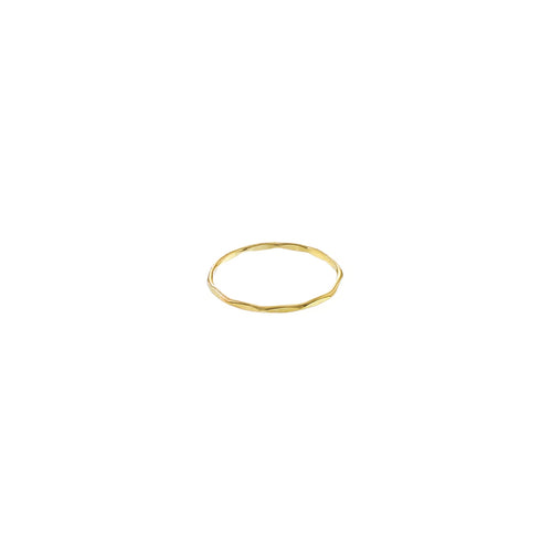 GOLD ROCKY RING