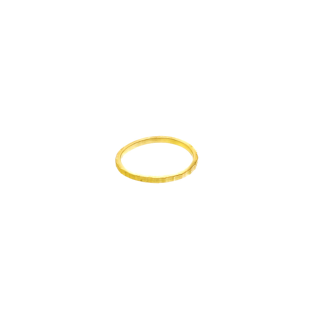 GOLD MOONSCAPE RING