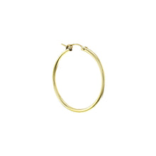 Load image into Gallery viewer, GOLD CHUNKY HOOP LARGE