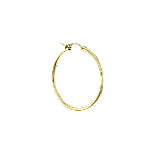 GOLD CHUNKY HOOP LARGE