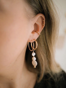 GOLD TWISTED EARCUFF