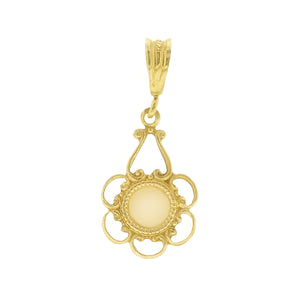 GOLD NECKLACE CHARM BELLE