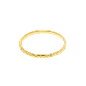 GOLD BLOOM MINI RING