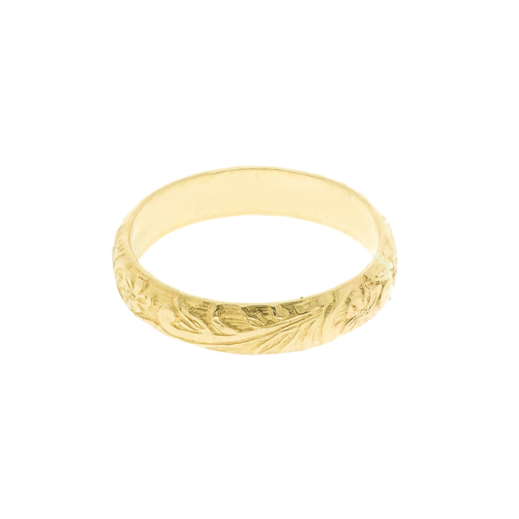GOLD BLOOM RING